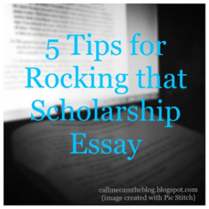 National merit scholarship essay tips