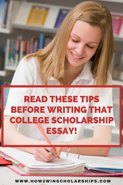 2012 essay scholarships for college