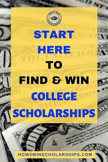 Start here to find and win college scholarships
