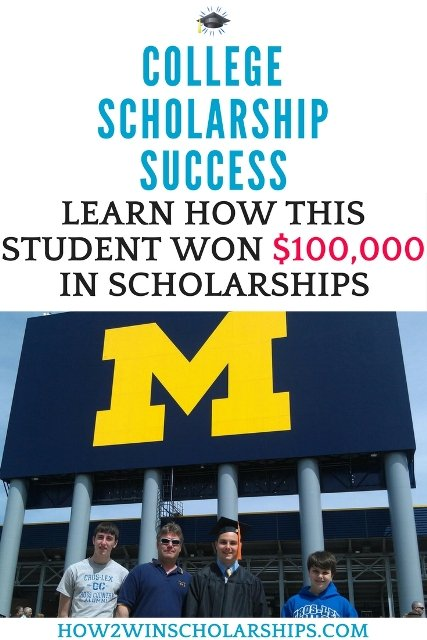 This student won $100,000 for college using these winning scholarship tips! #college #scholarships #ScholarshipMom #ScholarshipTips