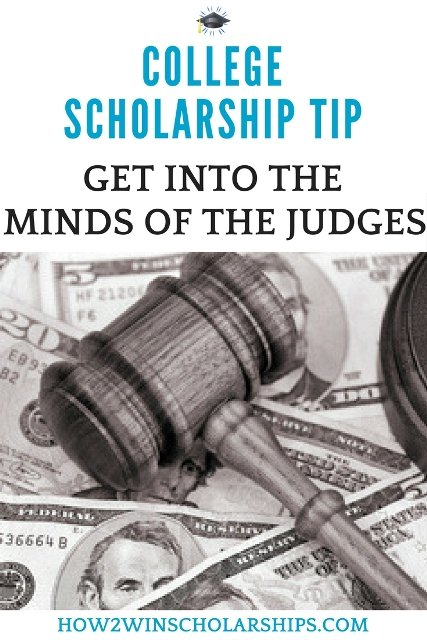College Scholarship Tip - Learn about college scholarship judging and win more money for school!