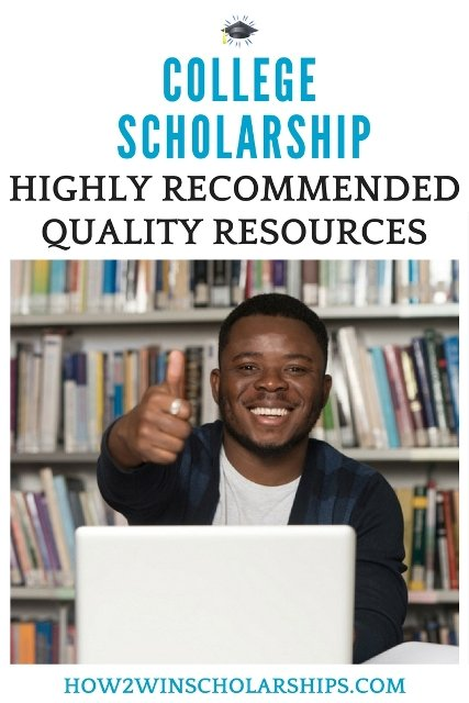 Highly Recommended Scholarship Listing Books for College