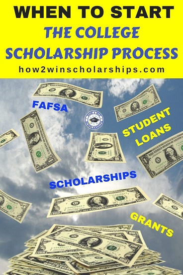 When to Start the College Scholarship Process