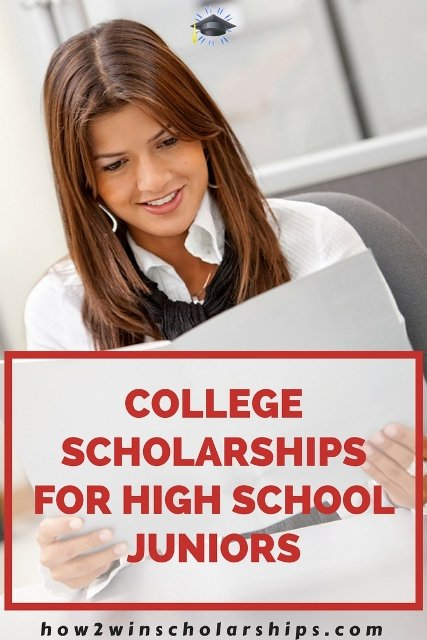 College scholarships for high school juniors - Save this list!