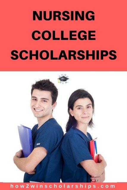 Nursing scholarships for college #college #scholarships #ScholarshipMom