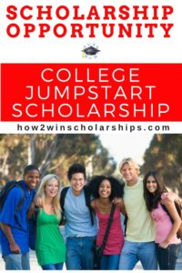 College JumpStart Scholarship - $1000 for school, easy application!