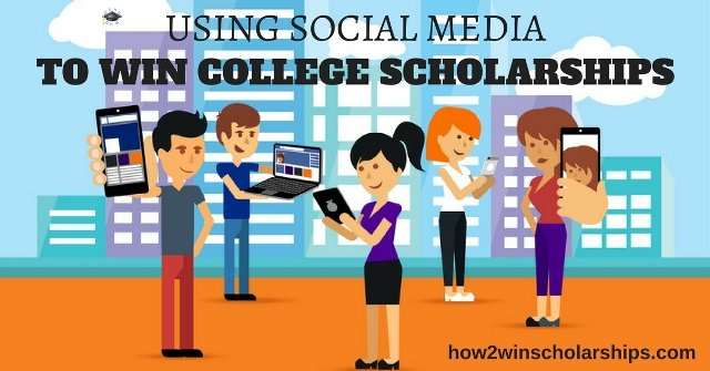 Using Social Media to Win College Scholarships