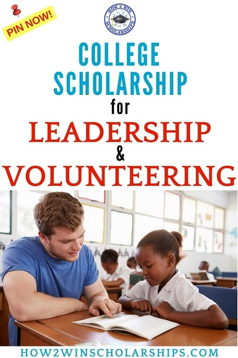 College Scholarship for Leadership and Volunteering - Richie's Spirit Scholarship