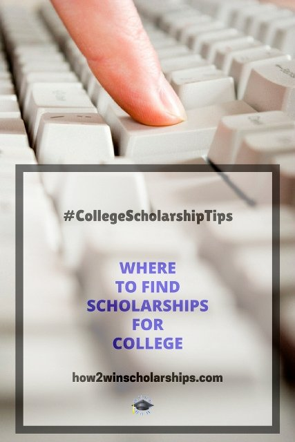 Where to find scholarships for college