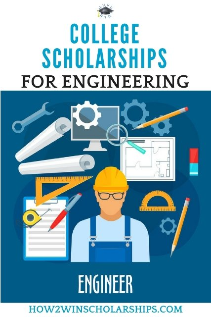 Engineering College Scholarships - Save this pin! #college #scholarships #ScholarshipMom