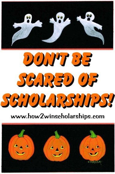 Do NOT Be Scared of College Scholarships - Help is here! #scholarships