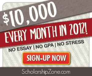 easy scholarships no essay 2011