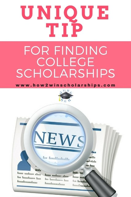 Use this unique tip to find more college scholarships