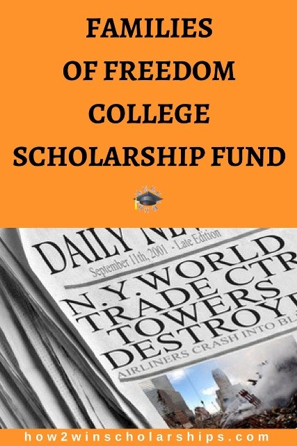 Families of Freedom College Scholarship Fund