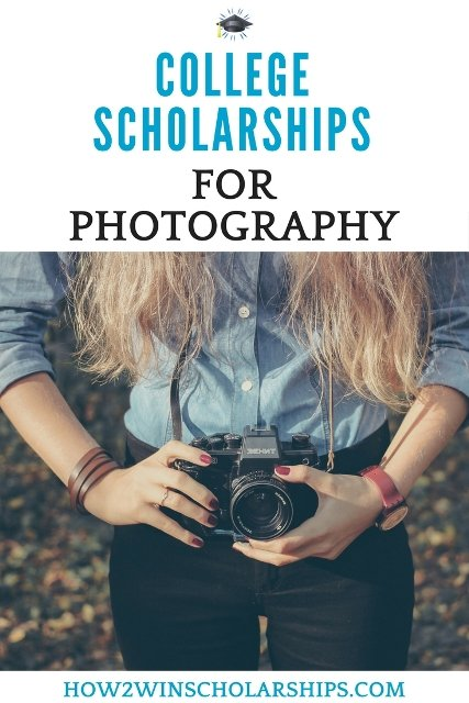 College Scholarships for Photography Students #Scholarships #ScholarshipMom