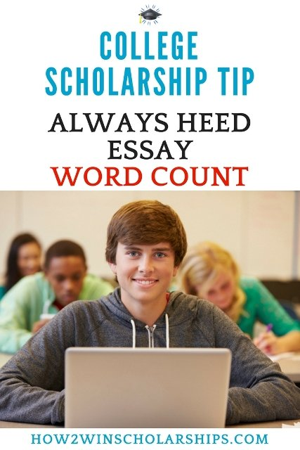 Use this college scholarship tip to make sure all essay guidelines are followed and to impress the judges!