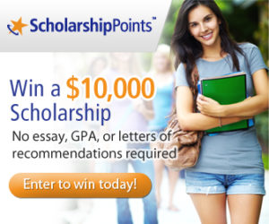 Winning College Scholarships with Scholarship Points