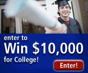 $10,000 College Scholarship