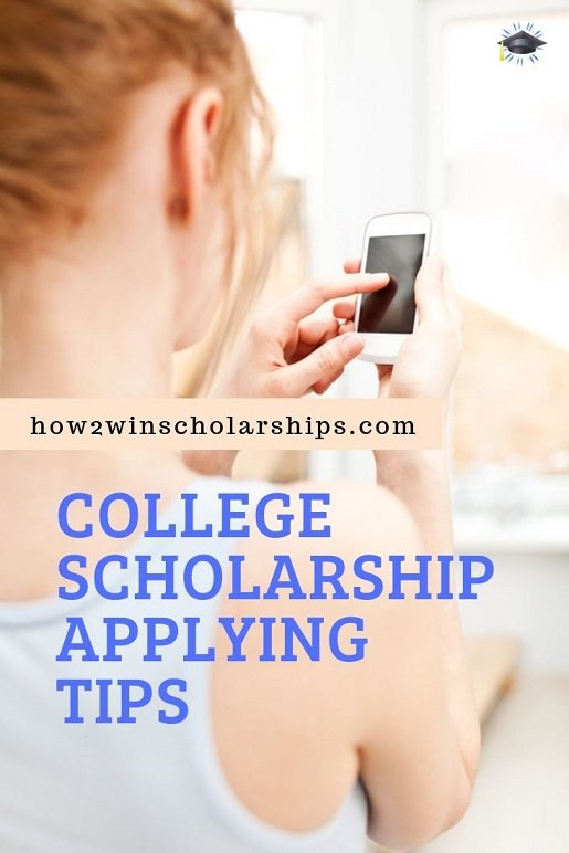 College Scholarship Tip - Do NOT Text Type
