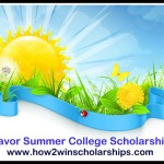 Savor Summer College Scholarship - Winning tips here!