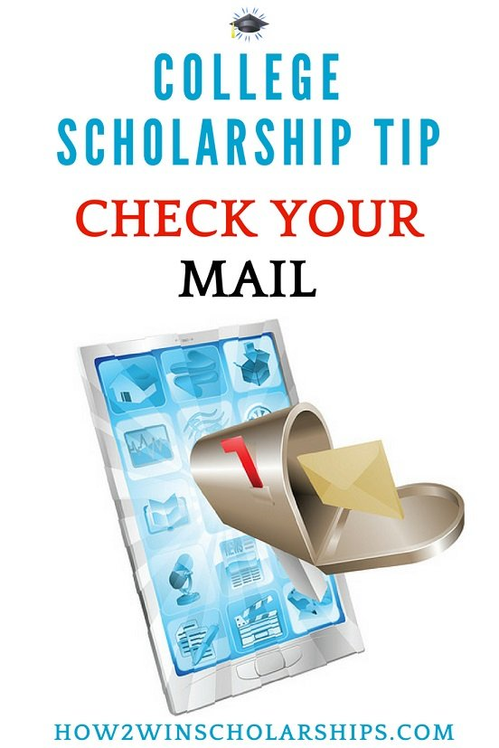 College-Scholarship-Tip-Check-your-mail Sallie Mae Application Form on student loan payment, foster singer, refinance student loans, deferment forms, paul thome, savings bank, account number, loans grants, brian dockins oh,