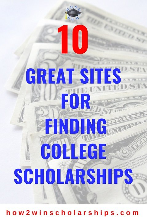 10 Great Sites for Finding College Scholarships - SAVE and PIN!