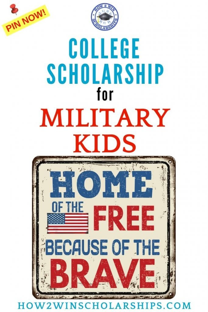 Heroes' Legacy College Scholarship for Military Kids