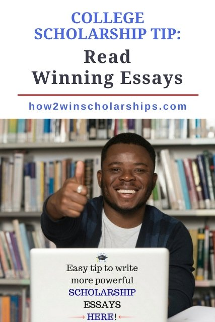 Use this college scholarship tip to write a more powerful essay and win more money for school!