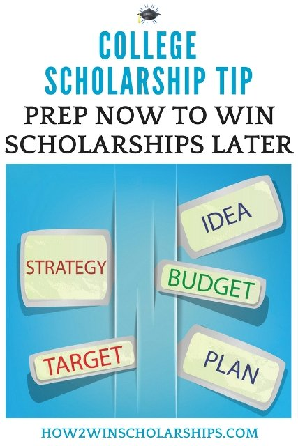 College Scholarship Tip - College Scholarship Prep IS a Thing! #ScholarshipMom #Scholarships #ScholarshipTips