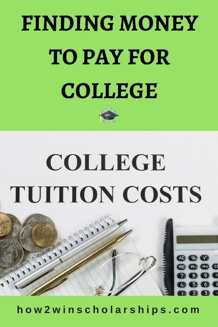 Finding money to pay for college