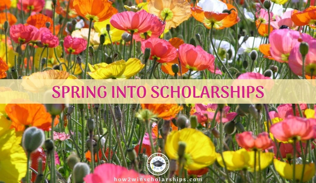 College Scholarship Tip Friday: Spring into Scholarships!