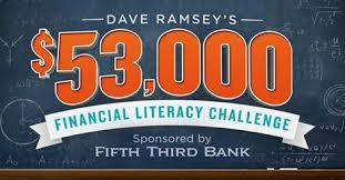 Dave Ramsey Financial Literacy Challenge College Scholarship