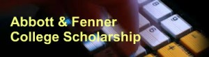 Abbott and Fenner College Scholarship