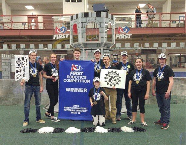 FIRST Robotics Winners - Moobotics