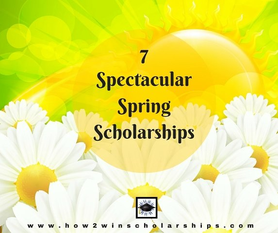 7 Spectacular Spring Scholarships