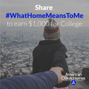 American Classic Homes College Scholarship