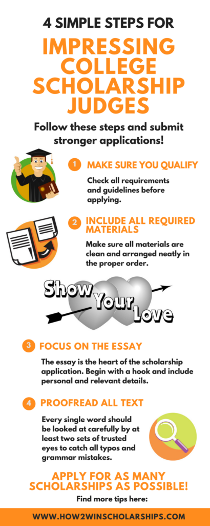 Simple Steps to Impress College Scholarship Judges – Scholarship Application Essay