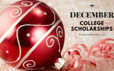 College Scholarships with December Deadlines