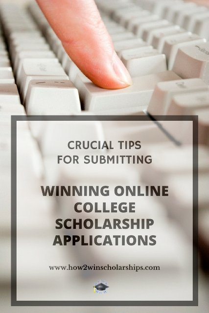 Crucial Tips for Submitting Winning Online College Scholarship Applications #college #scholarships #ScholarshipMom