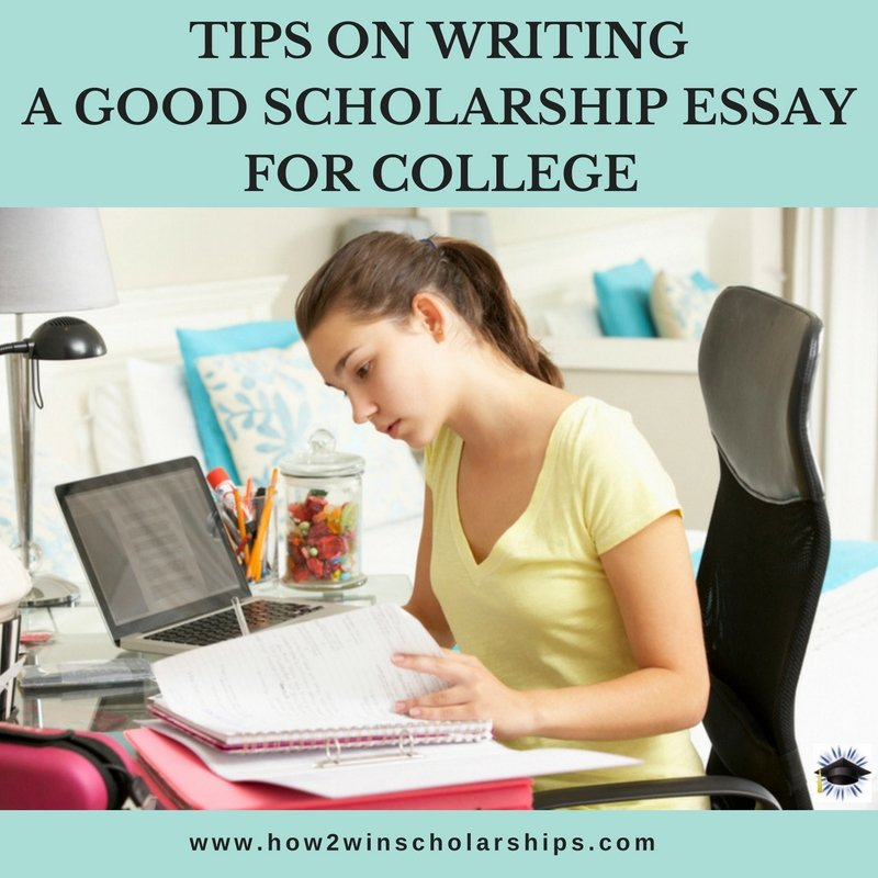 writing a college essay tips