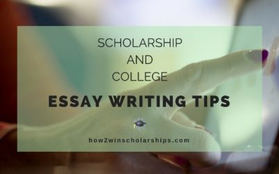 Tips for Writing a Killer Scholarship Essay   Front Range