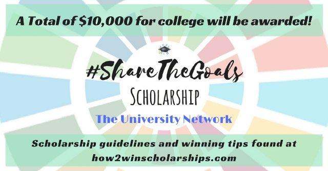Share The Goals College Scholarship