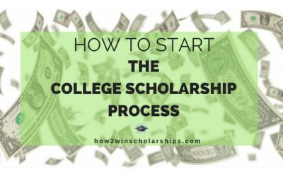 How to Start the College Scholarship Process