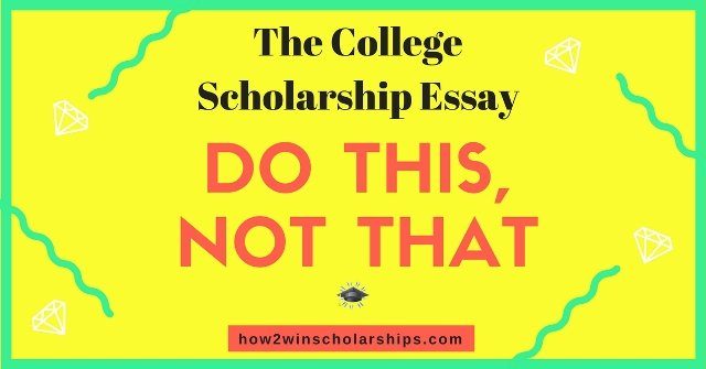 scholarships with essay requirements