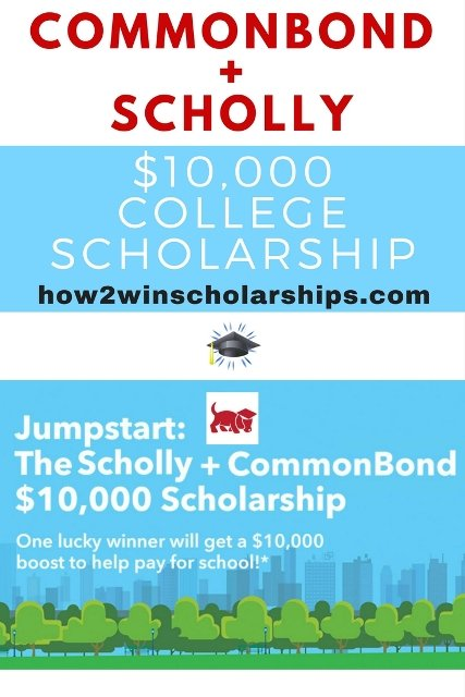 The CommonBond Scholly College Scholarship