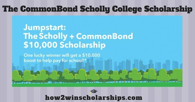 CommonBond Scholly College Scholarship