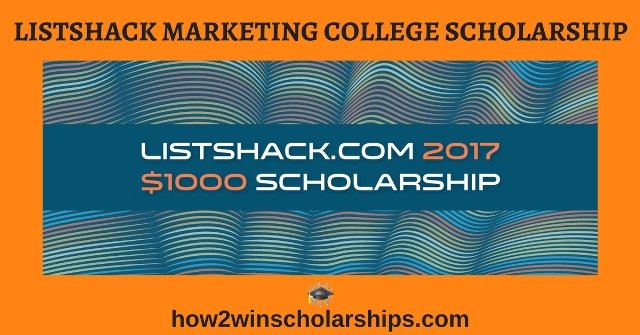ListShack Marketing College Scholarship