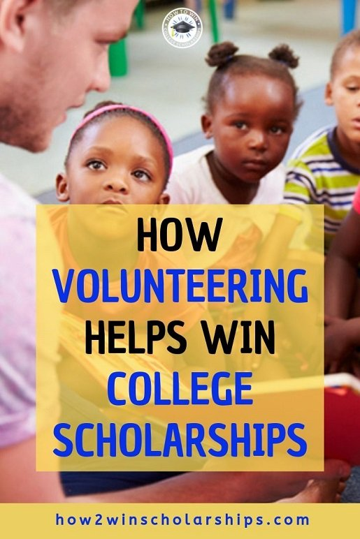 How Volunteering Helps Win College Scholarships for Students
