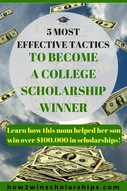 5 Most Effective Tactics to Become a College Scholarship Winner