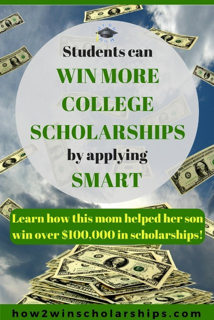 Students can win more college scholarships by applying smart!